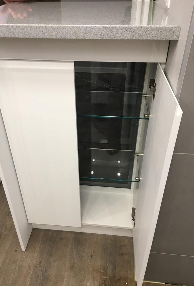 Акриловые кухни-Кухня МДФ в эмали «Модель 85»-фото6
