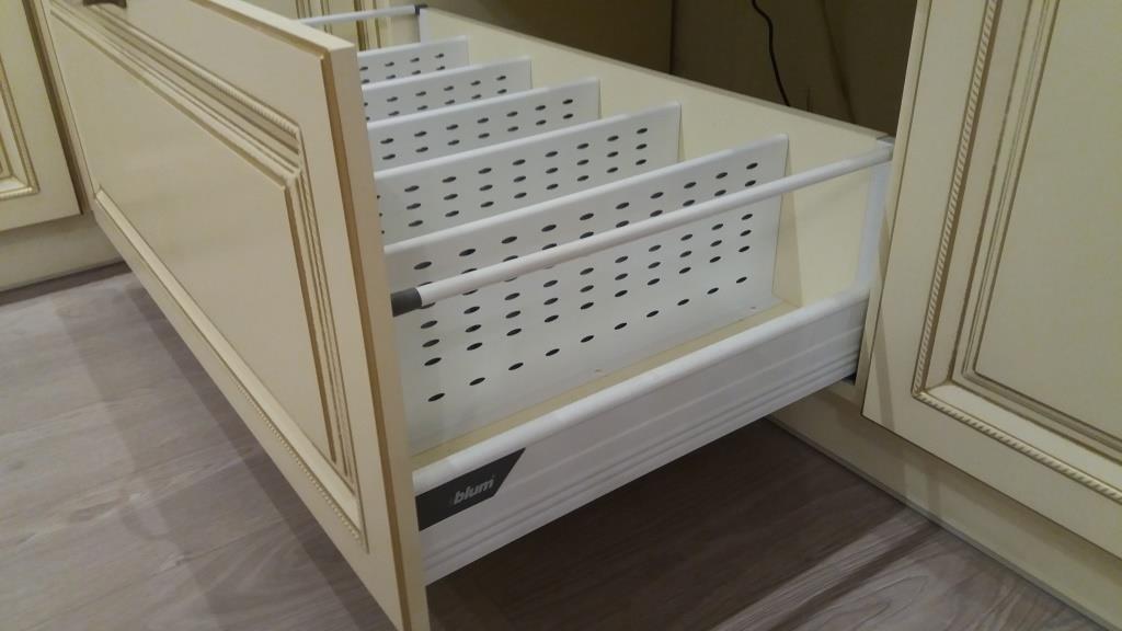 Белый кухонный гарнитур-Кухня МДФ в ПВХ «Модель 69»-фото8