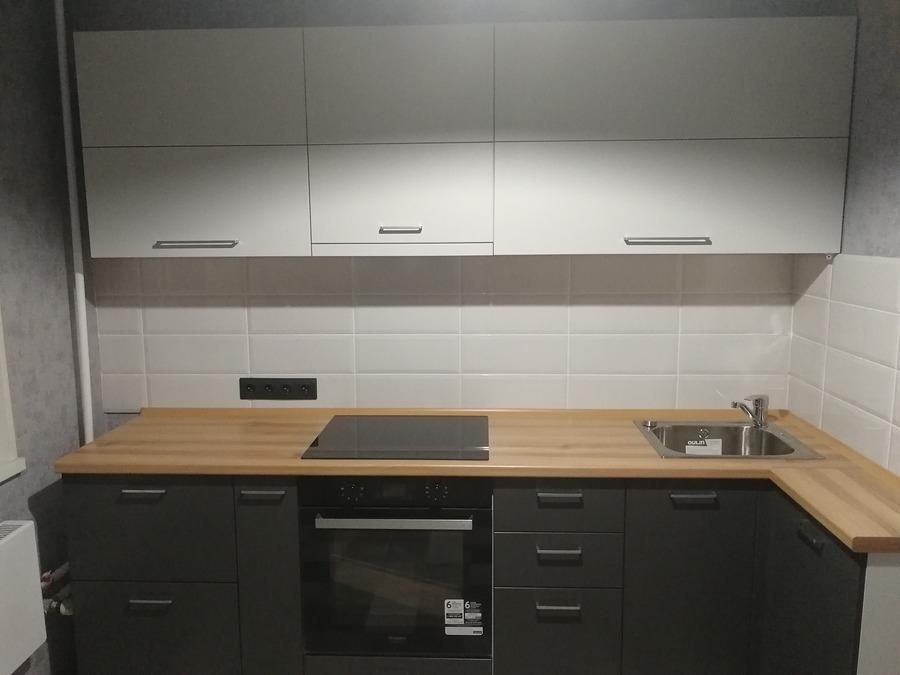 Купить зеленую кухню-Кухня МДФ в пластике «Модель 19»-фото2