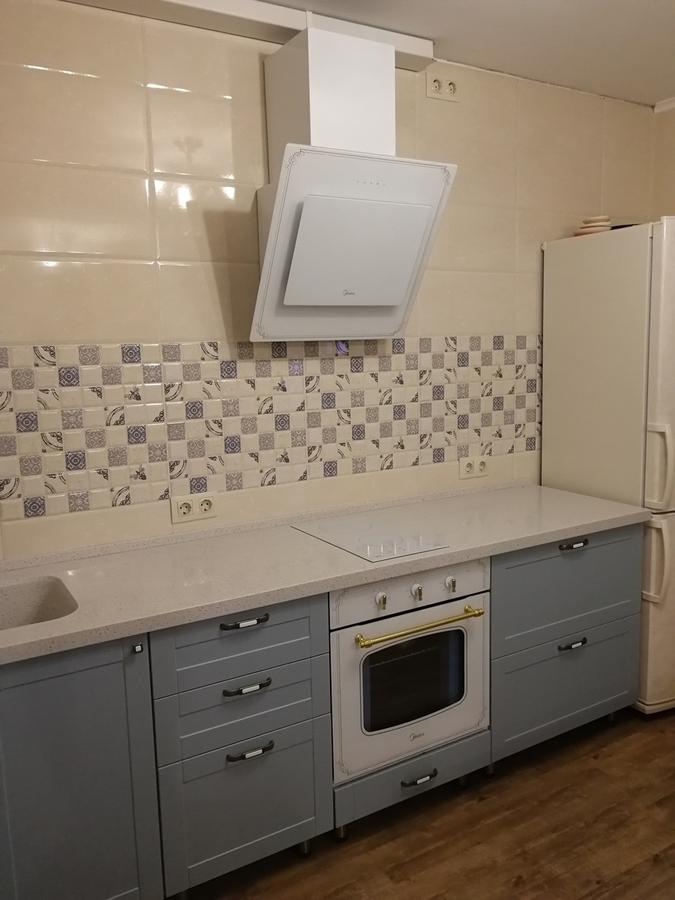 Классические кухни-Кухня МДФ в ПВХ «Модель 28»-фото6
