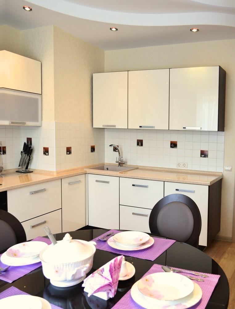 Акриловые кухни-Кухня из акрила «Модель 284»-фото1