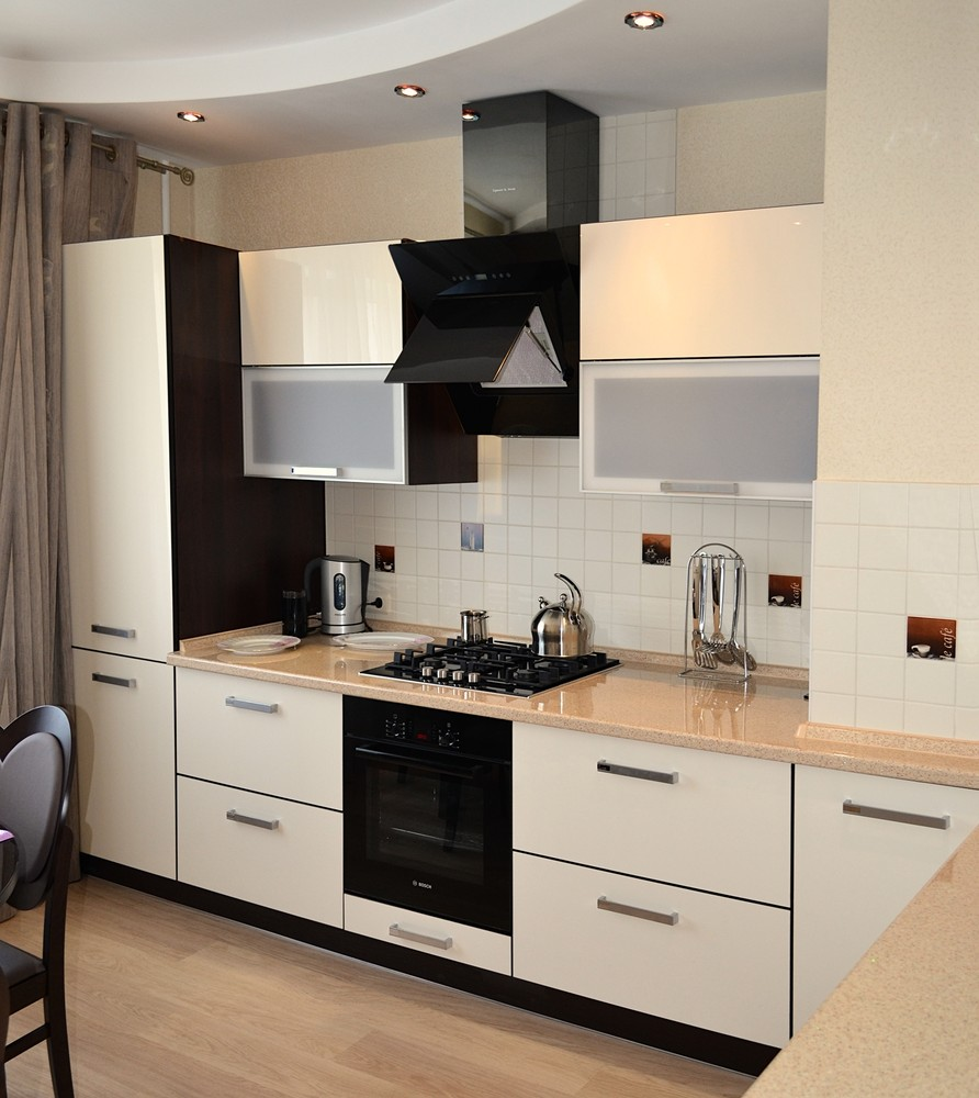 Акриловые кухни-Кухня из акрила «Модель 284»-фото2