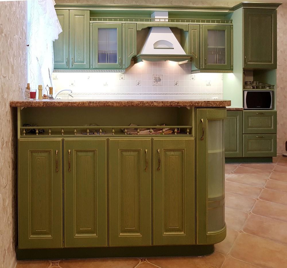 Классические кухни-Кухня из массива «Модель 23»-фото1