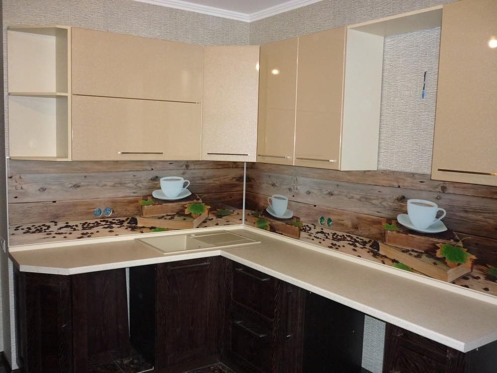 Купить кухню-Кухня МДФ в ПВХ «Модель 243»-фото1
