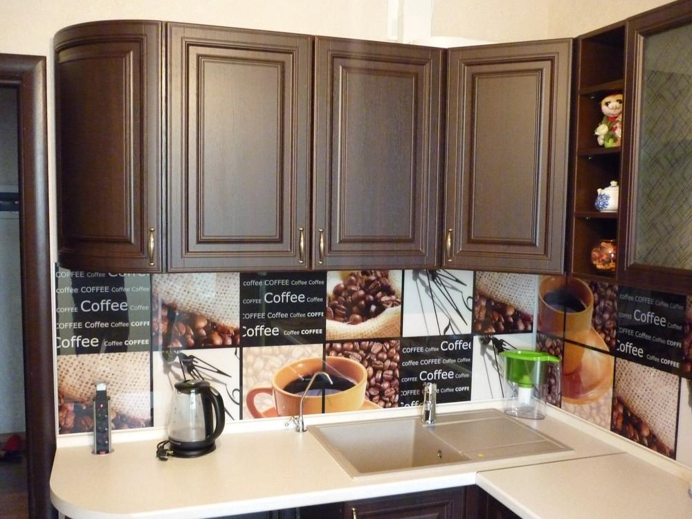 Встроенная кухня-Кухня МДФ в ПВХ «Модель 227»-фото2