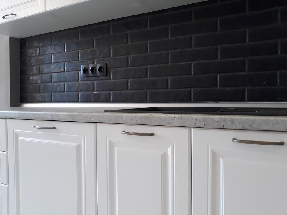 Белый кухонный гарнитур-Кухня МДФ в ПВХ «Модель 280»-фото7