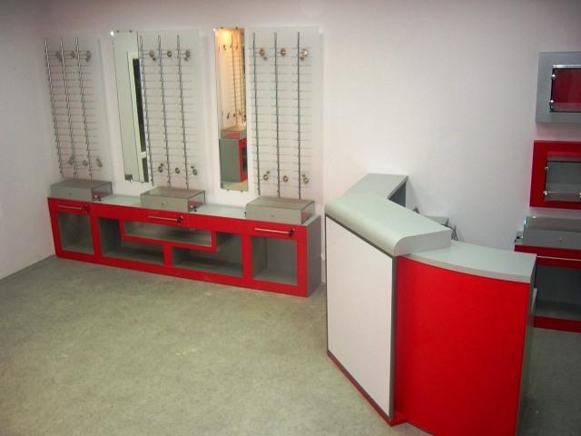 Торговая мебель-Мебель для оптики «Модель 196»-фото3