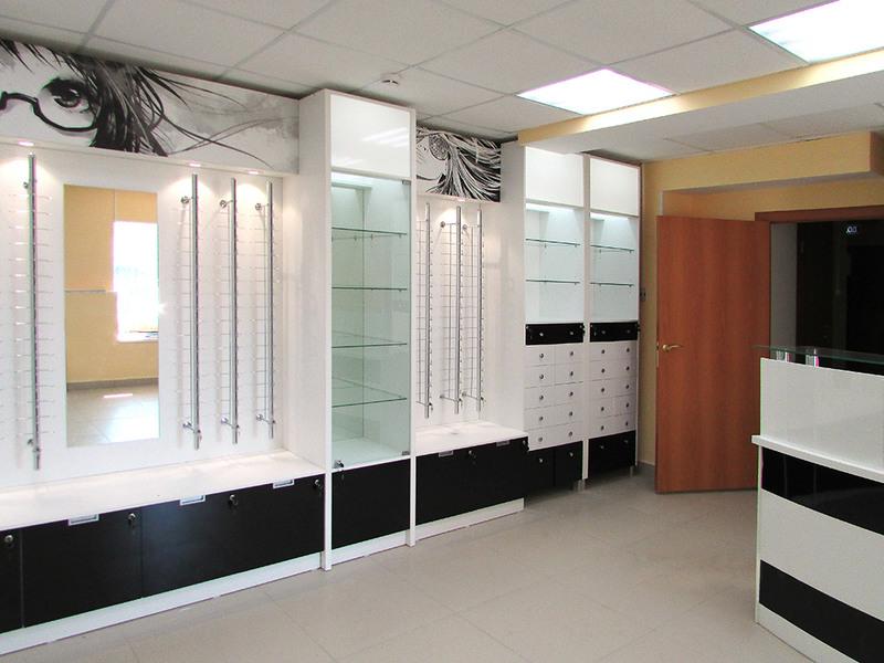 Торговая мебель-Мебель для оптики «Модель 209»-фото1