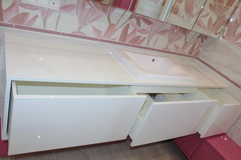 Мебель для ванной комнаты-Мебель для ванной «Модель 84»-фото11