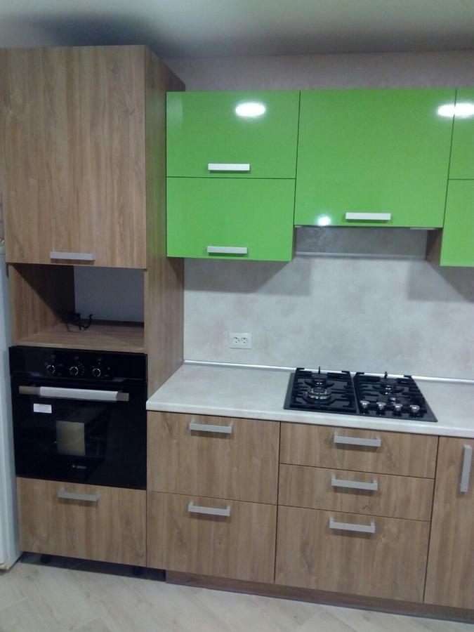 Встроенная кухня-Кухня из пластика «Модель 355»-фото3