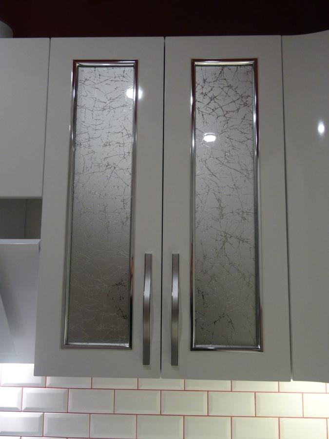 Белый кухонный гарнитур-Кухня из пластика «Модель 365»-фото6