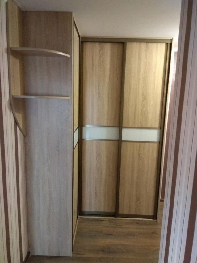 Бельевой шкаф-купе-Шкаф-купе из ЛДСП «Модель 292»-фото1