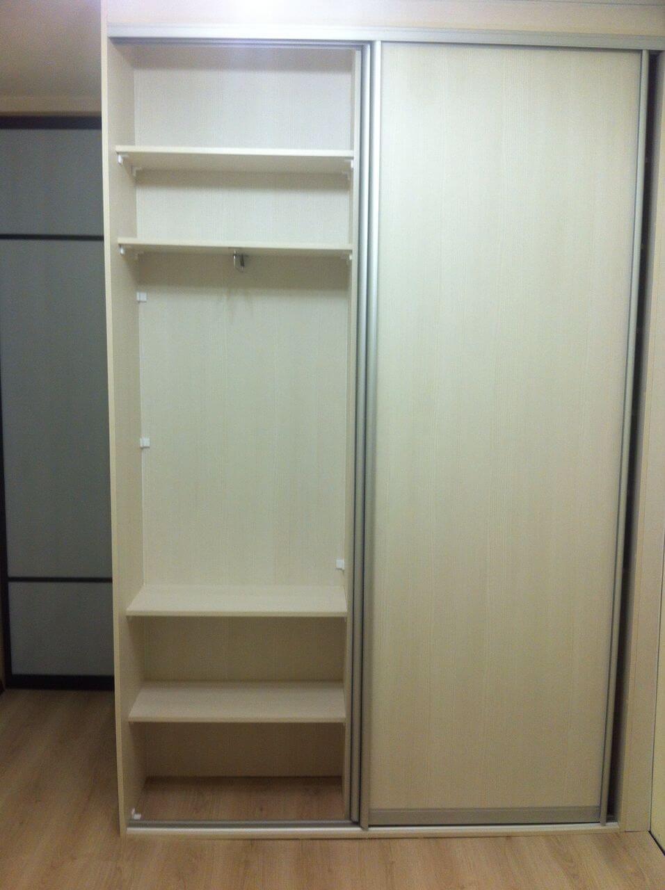 Белые шкафы-купе-Шкаф-купе из ЛДСП «Модель 134»-фото3
