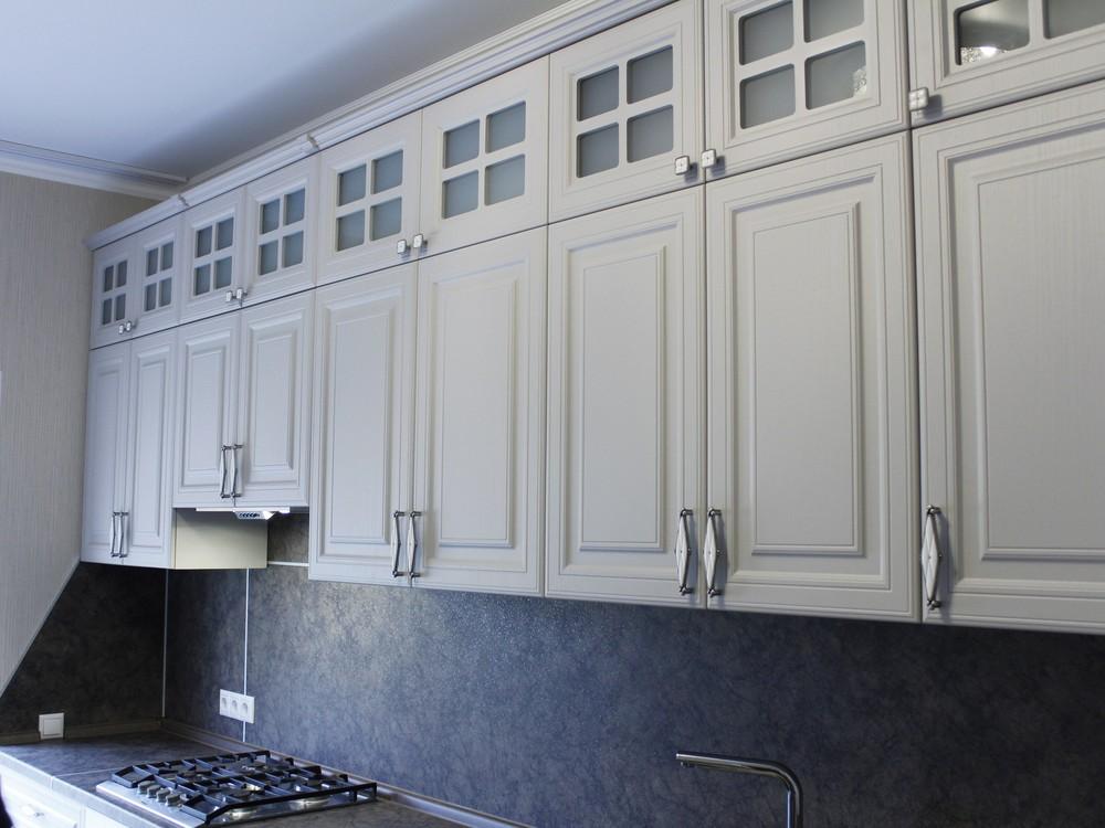 Встроенная кухня-Кухня МДФ в ПВХ «Модель 147»-фото5