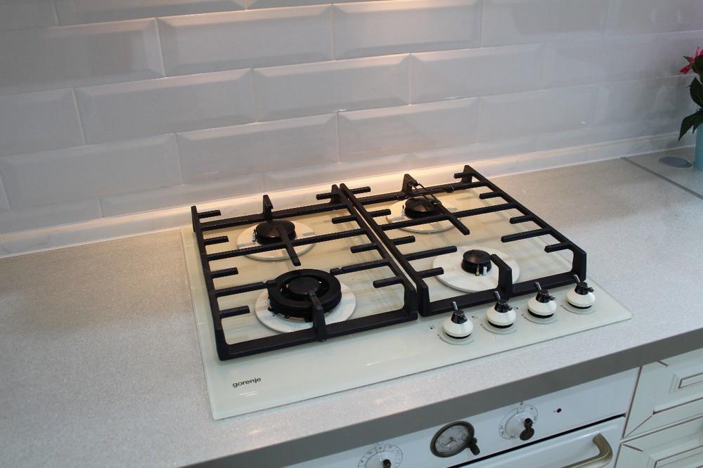 Встроенная кухня-Кухня МДФ в ПВХ «Модель 154»-фото5
