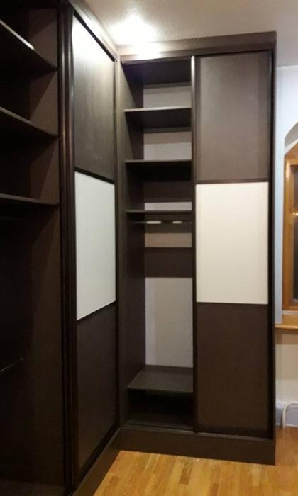 Изготовление шкафов купе-Шкаф-купе из ЛДСП «Модель 86»-фото5
