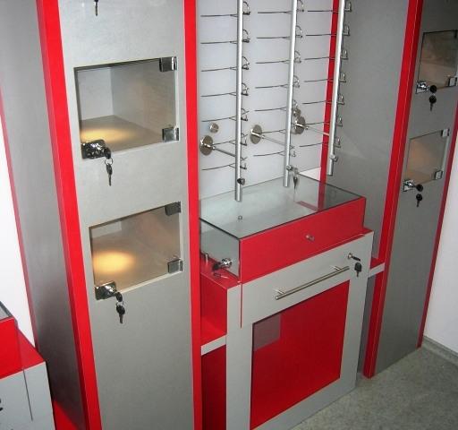 Торговая мебель-Мебель для оптики «Модель 196»-фото9