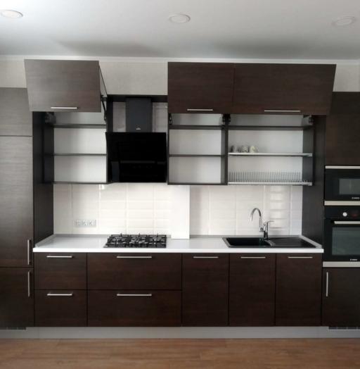 -Кухня из пластика «Модель 188»-фото17