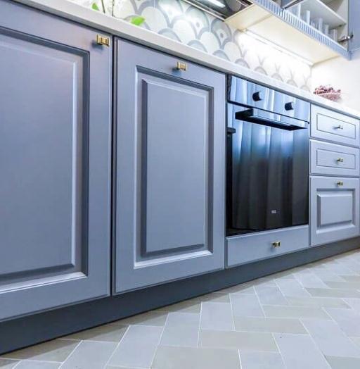 -Кухня МДФ в эмали «Модель 420»-фото2