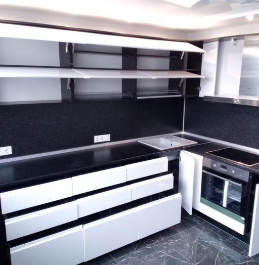-Кухня МДФ в эмали «Модель 430»-фото5