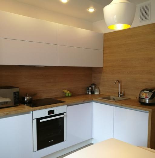 -Кухня из пластика «Модель 438»-фото16