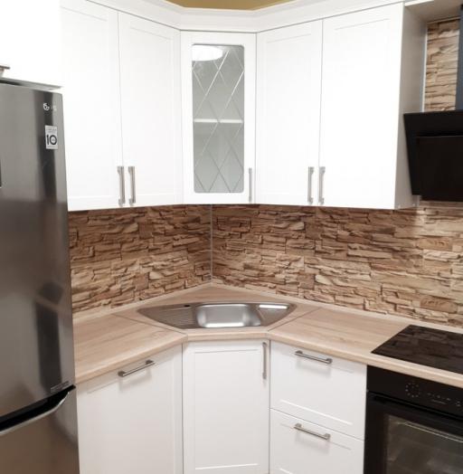 Белый кухонный гарнитур-Кухня «Модель 494»-фото5