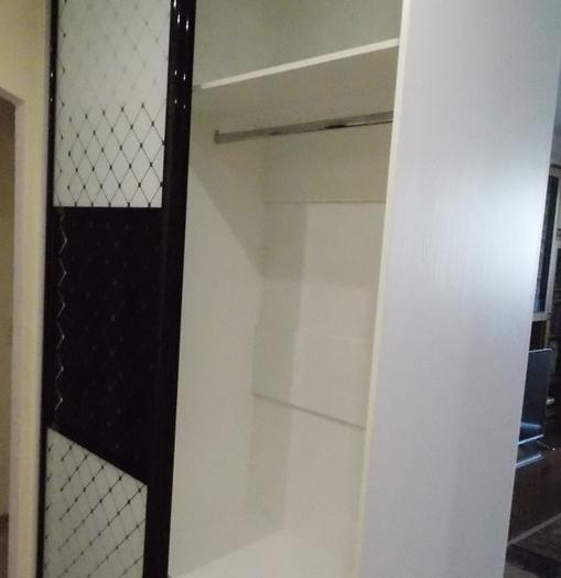 Белые шкафы-купе-Шкаф-купе с зеркалом «Модель 416»-фото6