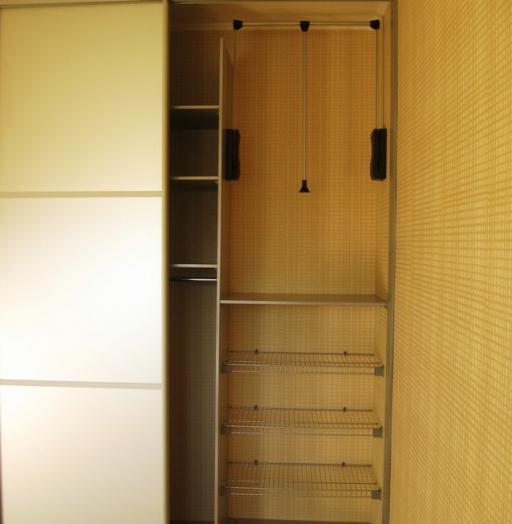 Бельевой шкаф-купе-Шкаф-купе с зеркалом «Модель 439»-фото5