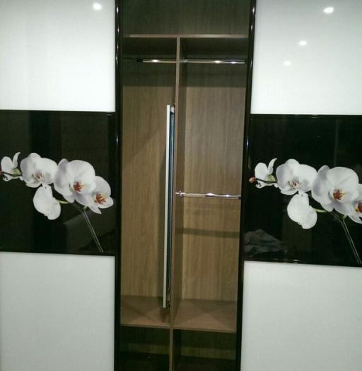 Белые шкафы-купе-Шкаф-купе с фотопечатью «Модель 441»-фото3