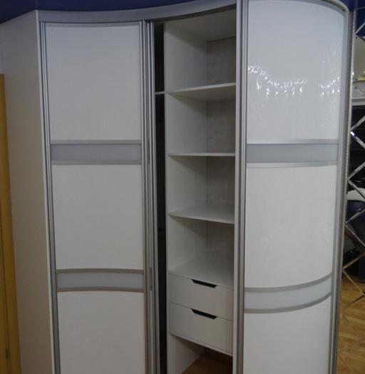 Белые шкафы-купе-Шкаф-купе из ЛДСП «Модель 467»-фото3
