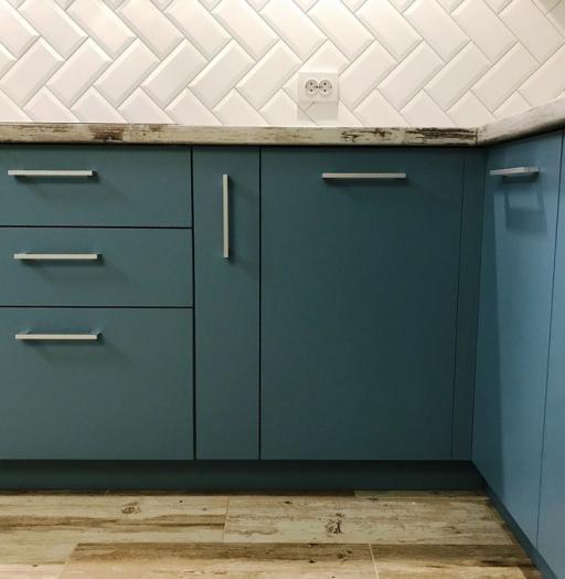-Кухня из пластика «Модель 373»-фото23