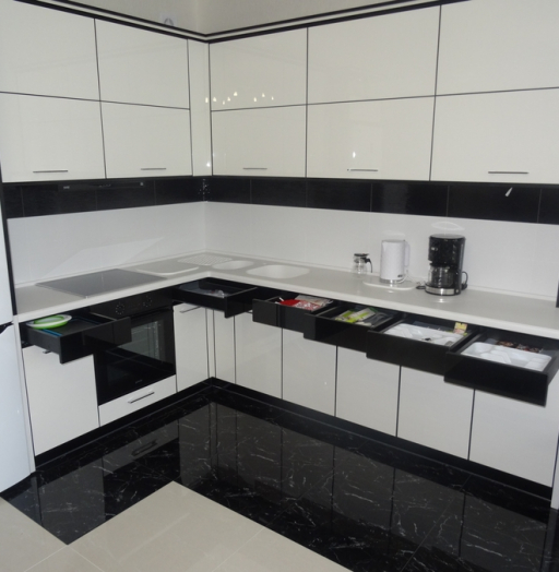 -Кухня МДФ в эмали «Модель 68»-фото30