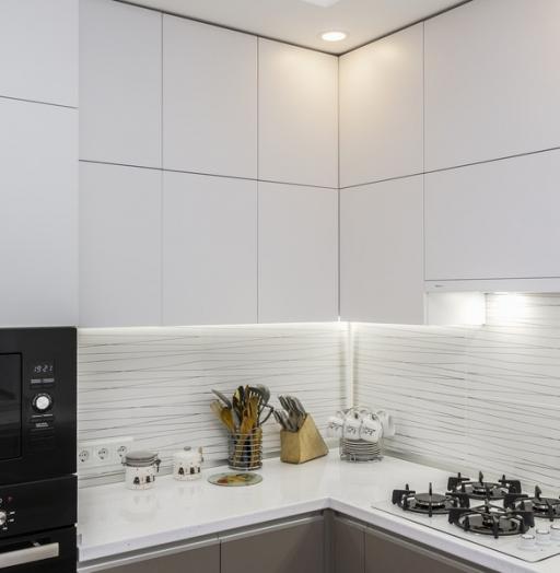 -Кухня МДФ в ПВХ «Модель 9»-фото1