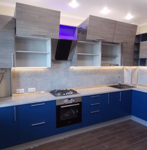 -Кухня МДФ в эмали «Модель 15»-фото3