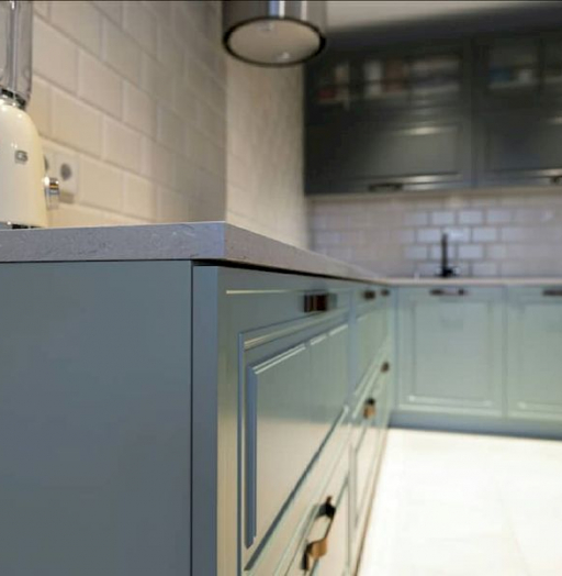-Кухня МДФ в эмали «Модель 683»-фото9
